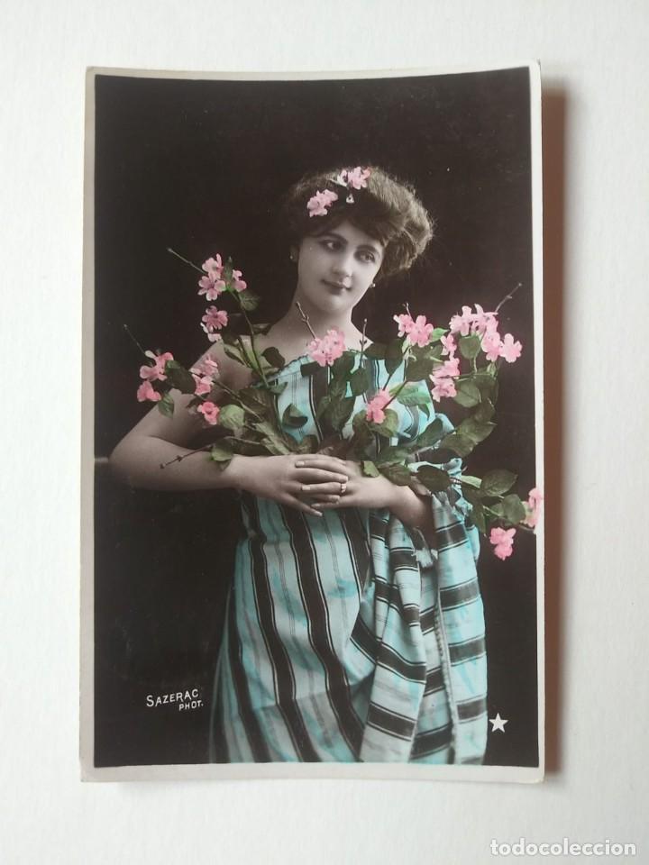 1906 SAZERAC (Postales - Postales Temáticas - Galantes y Mujeres)