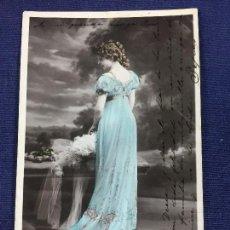 Postales: POSTAL ELLEN BAXONE N 162 REUTLINGER ETOILE PARIS COLOREADA . Lote 142137414
