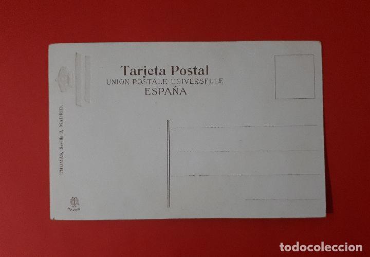 Postales: ANTIGUA POSTAL VICTORIA EUGENIA REINA DE ESPAÑA LITOGRAFIA - Foto 2 - 143099910