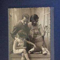 Postales: POSTAL ESTAMPA FAMILIAR. ED. DP 1063/1. ESCRITA 1931.. Lote 144757878