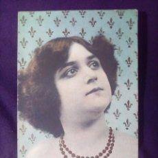 Postales: POSTAL BELLA CLEOPATRA CIRCULADA 1907 FOT. FIALDRO N°4 SIN DIVIDIR. Lote 147068318