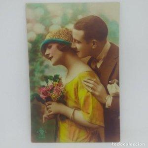 Postal romántica París 3028