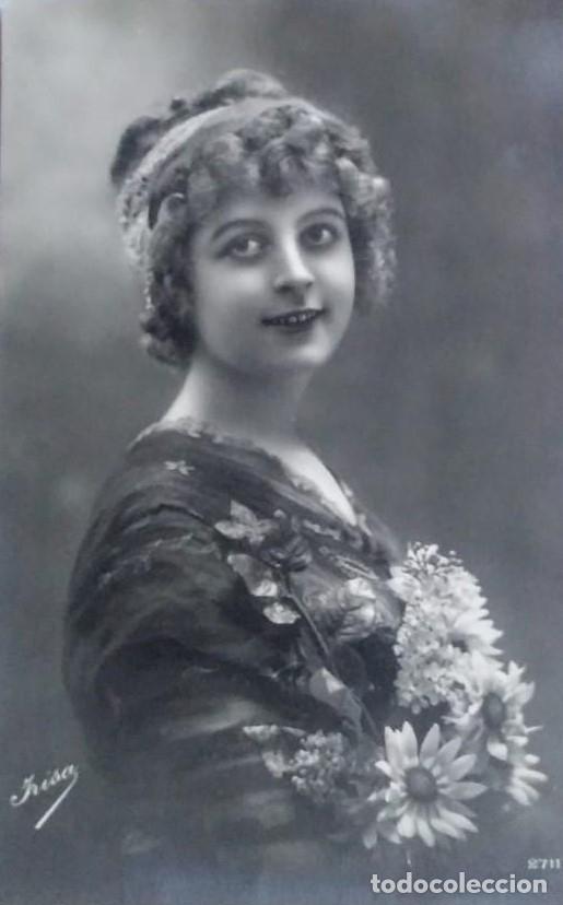 1912 IRISA 2711 (Postales - Postales Temáticas - Galantes y Mujeres)
