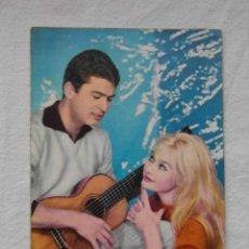 Postales: POSTAL DE PAREJA JOVEN CON GUITARRA. C Y Z 583. ESCRITA AL REVERSO. Lote 150140682