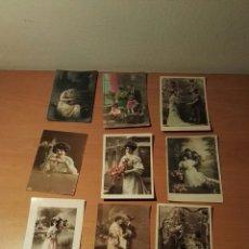 Postales: DOCE POSTALES ESCRITAS.. Lote 150999962