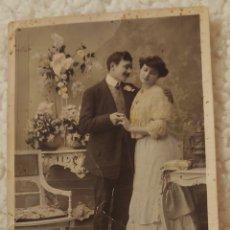 Postales: ANTIGUA POSTAL AÑOS 1900. Lote 152605368