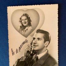 Postales: ANTIGUA TARJETA POSTAL - PAREJA - ED. CIMA 1/56. ESCRITA 1948.. Lote 153394962