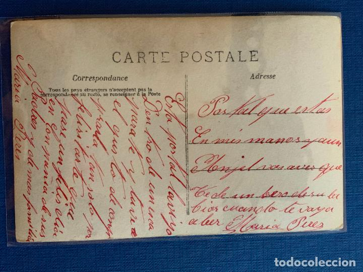 Postales: POSTAL COLOREADA DE PAREJA. ESCRITA. - Foto 2 - 153532778