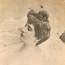 Postales: POSTAL ROMANTICA FRANCESA CIRCULADA EN 1903, DORSO SIN DIVIDIR (VER EL DORSO). Lote 155642482