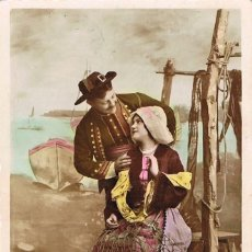 Postales: POATL ROMANTICA FRANCESA: LA BELLA REDERA. Lote 155646354