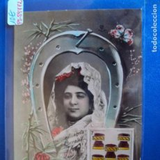Postales: (PS-59772)POSTAL DE CUPLETISTA JUANITA CORRALES - ARCHIVO RELIEVES BASA & PAGES. Lote 155660614