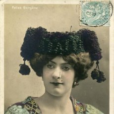 Postales: EMMIE FRENCH-FOLIES BERGERE-1905-RARA. Lote 155818106