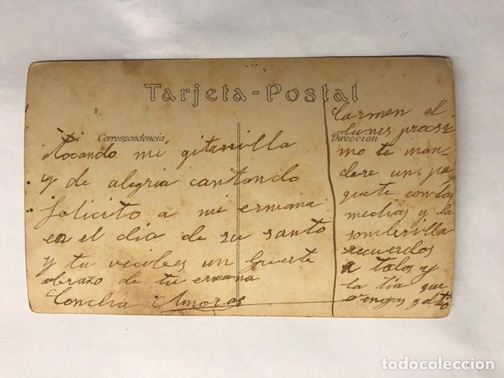 Postales: ADELITA LULU. Postal coloreada. Cupletista madrileña de principios del Siglo XX - Foto 2 - 155866142