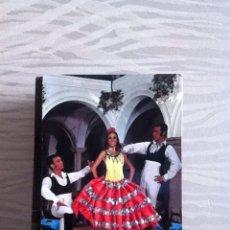 Postales: POSTAL TELA Y BORDADA. AÑOS 80. Lote 155940234