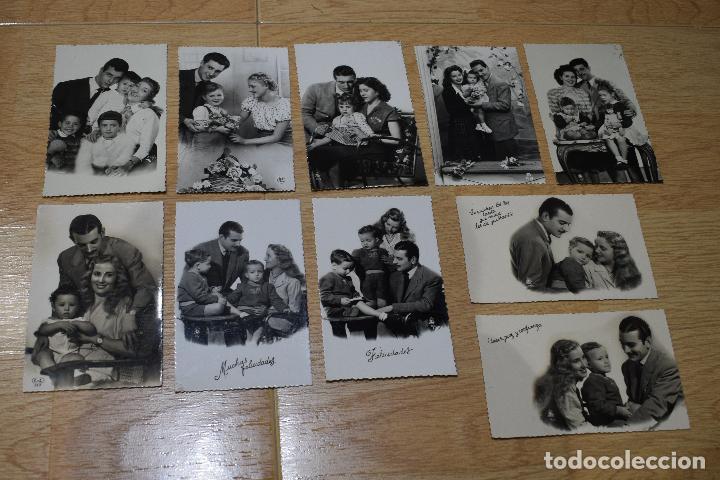 10 POSTALES ORIGINALES FOTOGRAFIAS AÑOS 50 (Postales - Postales Temáticas - Galantes y Mujeres)