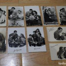 Postales: 10 POSTALES ORIGINALES FOTOGRAFIAS AÑOS 50. Lote 155988234