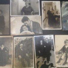 Postales: LOTE DE POSTALES ANTIGUAS HOMBRES , MUJERES Y NIÑOS. . Lote 158271370