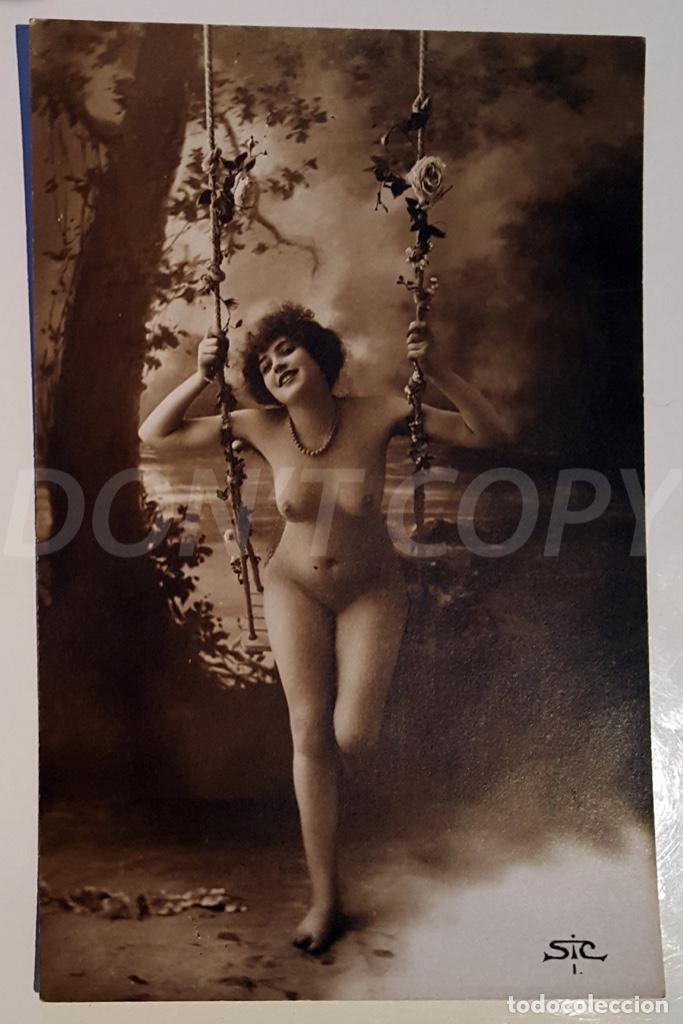 8 VINTAGE REAL PHOTO POSTCARDS ARTISTIC NUDES. SIC (FRANCE). UNUSED!!! (Postales - Postales Temáticas - Galantes y Mujeres)