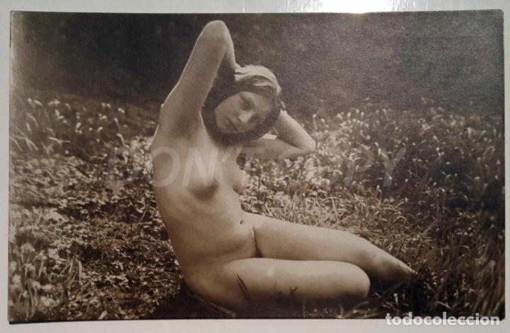Postales: 6 FOTOS ANTIGUAS DE DESNUDOS ARTISTICOS - Verlag der Schönhett - Herrlich. SIN USO!!! - Foto 4 - 158695414