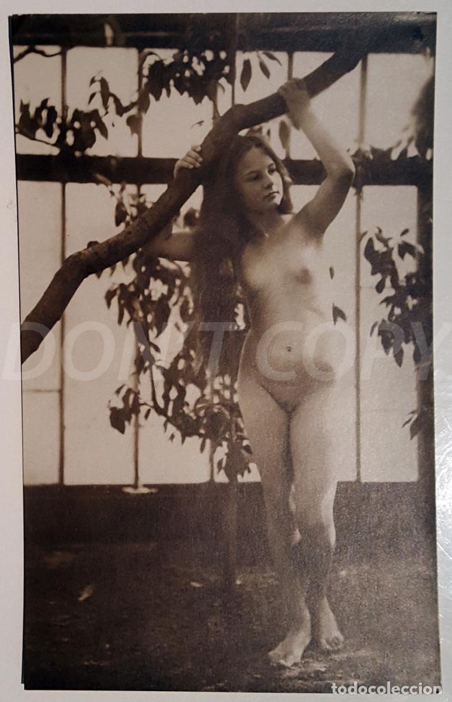 Postales: 6 FOTOS ANTIGUAS DE DESNUDOS ARTISTICOS - Verlag der Schönhett - Herrlich. SIN USO!!! - Foto 6 - 158695414