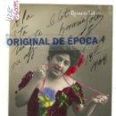 Postales: (PS-60095)POSTAL FOTOGRAFICA CUPLETISTA ROSARIO SOLER-DEDICADA. Lote 159676946