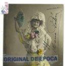 Postales: (PS-60103)POSTAL FOTOGRAFICA CUPLETISTA MARIA PALOU-DEDICADA.. Lote 159678290