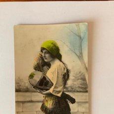 Postales: POSTAL COLOREADA CUPLETISTA MIGNON. DEDE 268. . Lote 159866906