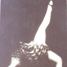 Postales: P-9304. POSTAL FOTOGRAFICA FIRMADA DE LA BAILARINA DORETT RELMS. TANZSTAR POSTALES. AÑO 1925.. Lote 159969394