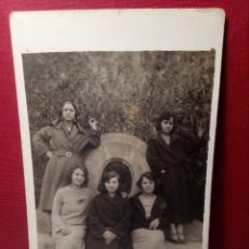 Postales: ANTIGUA POSTAL (AÑOS 40) SIN CIRCULAR - GRUPO AMIGAS POSANDO - REF: 169/179. Lote 162326250