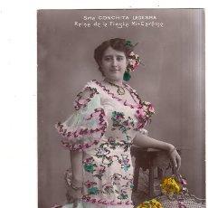 Postales: TARJETA POSTAL DE GALANTES Y MUJERES. SRTA. CONCHITA LEDESMA. . Lote 164456906