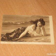 Postales: POSTAL DE MUJER. Lote 164645470