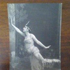 Postales: POSTAL DE LA ACTRIZ BERTHE BARON, PRICIPIOS DEL XX.. Lote 165702466