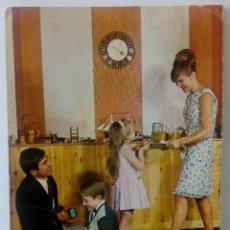 Postales: CTC - POSTAL VINTAGE - EUROCROMO - SERIE 1055 Nº 12 - 1055/12 - FAMILIA TREN NIÑOS - REVERSO ESCRITO. Lote 167077508