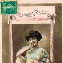 Postales: FELICES PASCUAS, CIRCULADA EN 1911. Lote 167837100