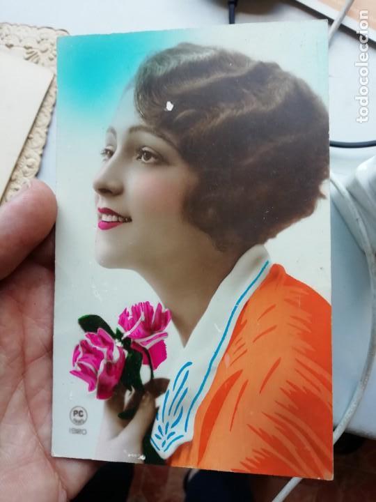 TARJETA POSTAL PRINCIPIOS SIGLO XX ORIGINAL EDICIONES PC PARIS FRANCESAS 1920 (Postales - Postales Temáticas - Galantes y Mujeres)