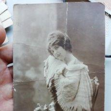 Postales: P- 3392. ANTIGUA POSTAL ROMANTICA MUJER TRISA.. Lote 168403828