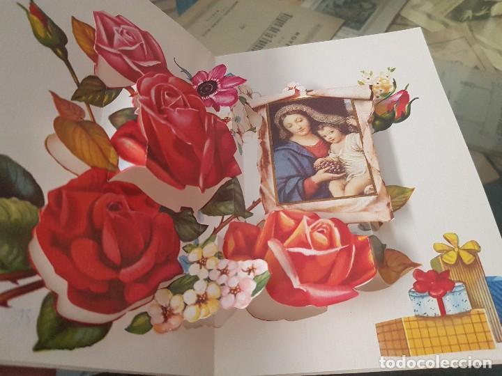 Postales: ANTIGUAS POSTALES DESPLEGABLES A MI MADRE QUERIDA C Y Z - Foto 3 - 168687648