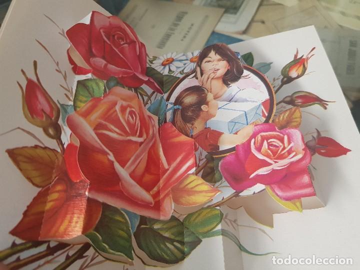 Postales: ANTIGUAS POSTALES DESPLEGABLES A MI MADRE QUERIDA C Y Z - Foto 4 - 168687648