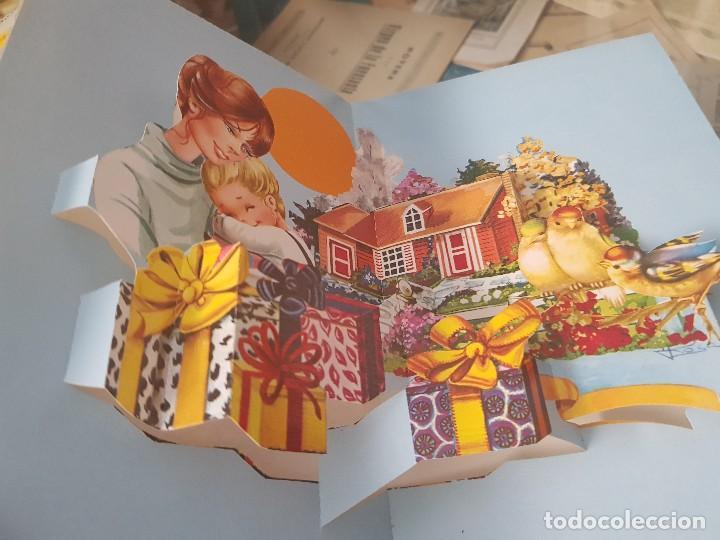 Postales: ANTIGUAS POSTALES DESPLEGABLES A MI MADRE QUERIDA C Y Z - Foto 7 - 168687648
