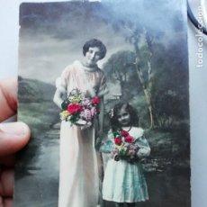 Postales: ANTIGUA TARJETA POSTAL TRES ESTRELLAS 0244 ESCRITA HECHA EN ITALIA. Lote 168762200