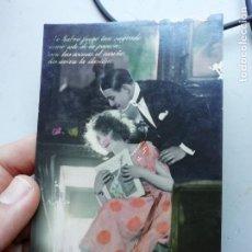 Postales: ANTIGUA TARJETA POSTAL MARGARA 674/3 SIN ESCRITURA. Lote 168762256