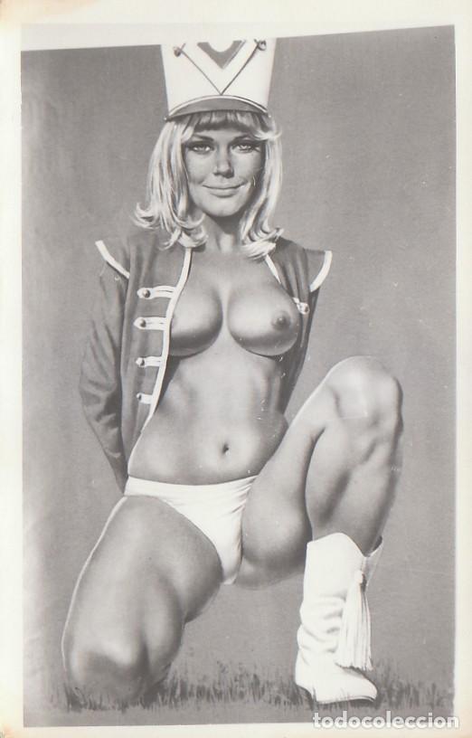 CURIOSA FOTO POSTAL ERÓTICA. CHICA PIN-UP. AÑOS 60. AA (Postales - Postales Temáticas - Galantes y Mujeres)