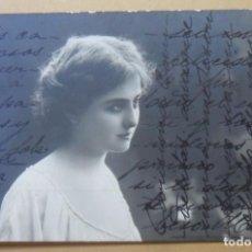 Postales: TARJETA POSTAL CIRCULADA - 26 DE DICIEMBRE DE 1903 - SEÑORITA - SELLO 10 CTS. ** ESCRITURA CRUZADA. Lote 171063105