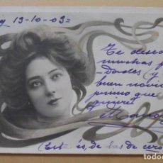 Postales: TARJETA POSTAL CIRCULADA ESCRITA EL 13 DE OCTUBRE DE 1903 ** SELLO DE 10 CTS.. Lote 171066779