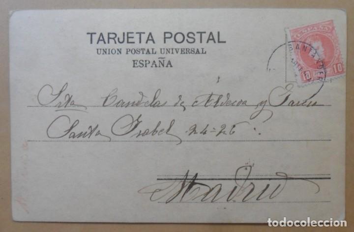 Postales: TARJETA POSTAL CIRCULADA - C'1903 - SELLO DE 10 CTS. - Foto 2 - 171093667