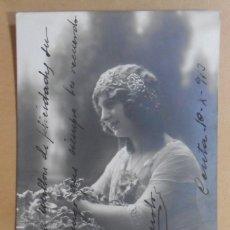 Postales: TARJETA POSTAL - ESCRITA EN CEUTA EL 10 DE OCTUBRE DE 1913 - TAMPON DEL BATALLON CAZADORES DE MADRID. Lote 171096519