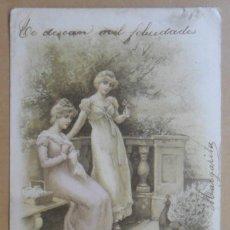 Postales: TARJETA POSTAL CIRCULADA 15 DE OCTUBRE DE 1903 - SELLO DE 10 CTS.. Lote 171100880