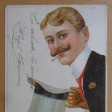 Postales: TARJETA POSTAL CIRCULADA 27 DE MAYO DE 1904 - SELLO DE 10 CTS.. Lote 171101037