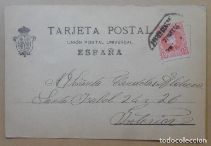 Postales: TARJETA POSTAL CIRCULADA 27 DE MAYO DE 1904 - SELLO DE 10 CTS. - Foto 2 - 171101037