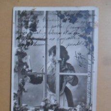 Postales: TARJETA POSTAL CIRCULADA C'1902 - JENNY L'OUVRIERE / JENNY LA TRABAJADORA - SELLO DE 10 CTS.. Lote 171104719